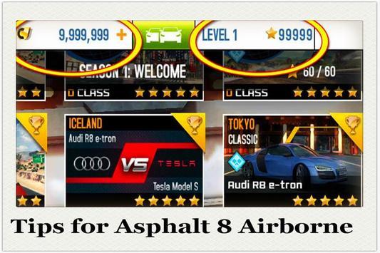 Tips for Asphalt 8 Airborne poster