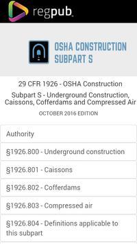 29 CFR 1926 - Subpart S poster