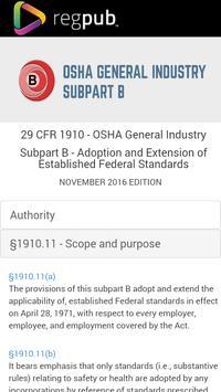 29 CFR 1910 - Subpart B poster