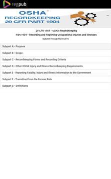 29 CFR 1904-OSHA RecordKeeping apk screenshot