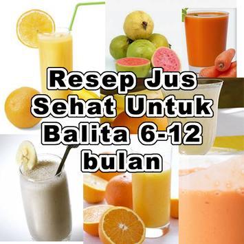 Resep Jus Sehat Untuk Balita poster
