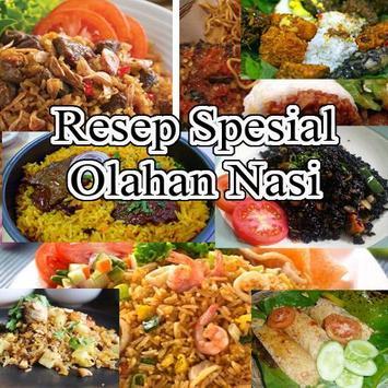 Resep Olahan Nasi Spesial poster