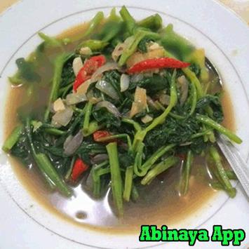Resep Masakan Cah Kangkung poster