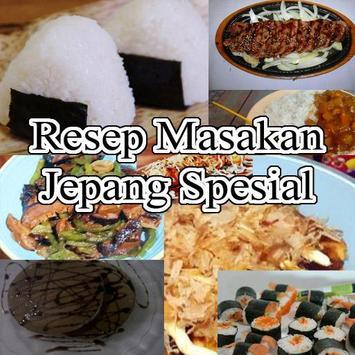 Resep Masakan Jepang Spesial poster