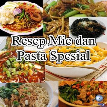 Resep Mie dan Pasta Spesial poster