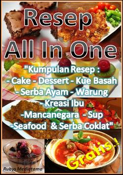 Resep All in One poster