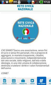 Rete Civica Nazionale apk screenshot