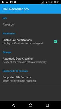 call recorder for Android apk screenshot