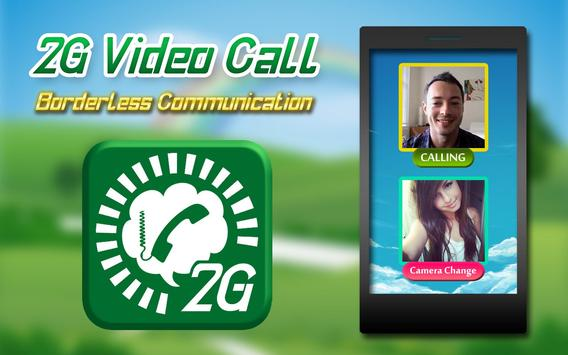 2G Video Calls Chat poster