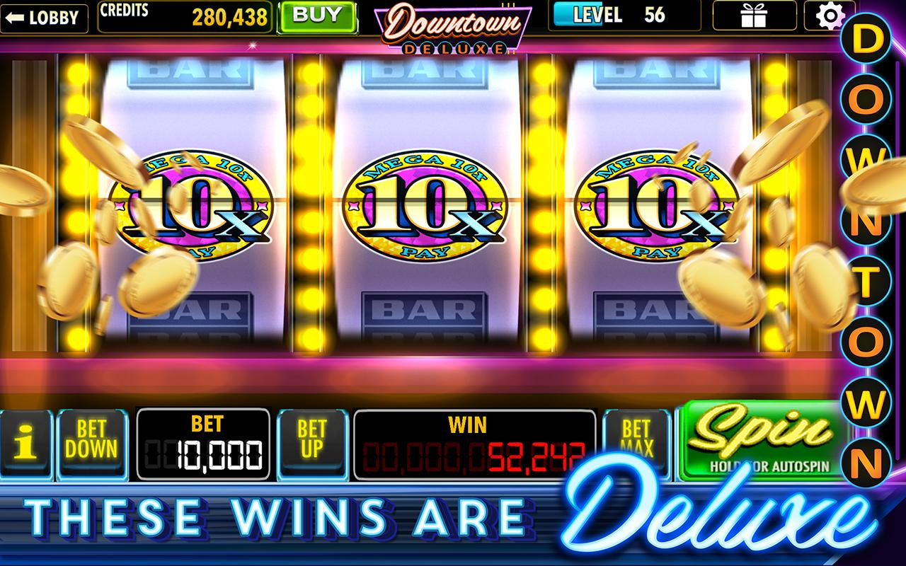 downtown deluxe casino games