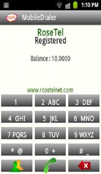 rosetel mobile dialer apk screenshot