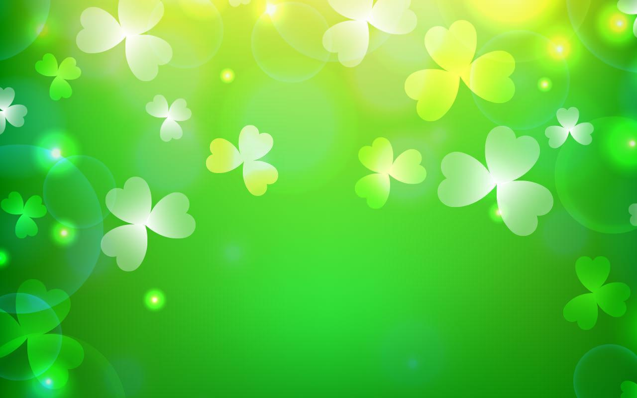 patricks day shamrock background - photo #42