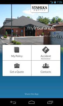 myInsurance - Stahlka Agency poster