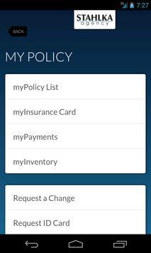 myInsurance - Stahlka Agency apk screenshot