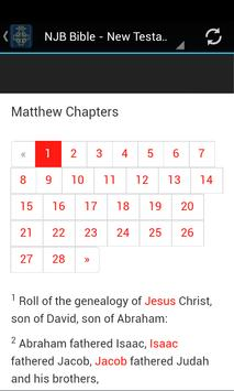 New Jerusalem Bible apk screenshot