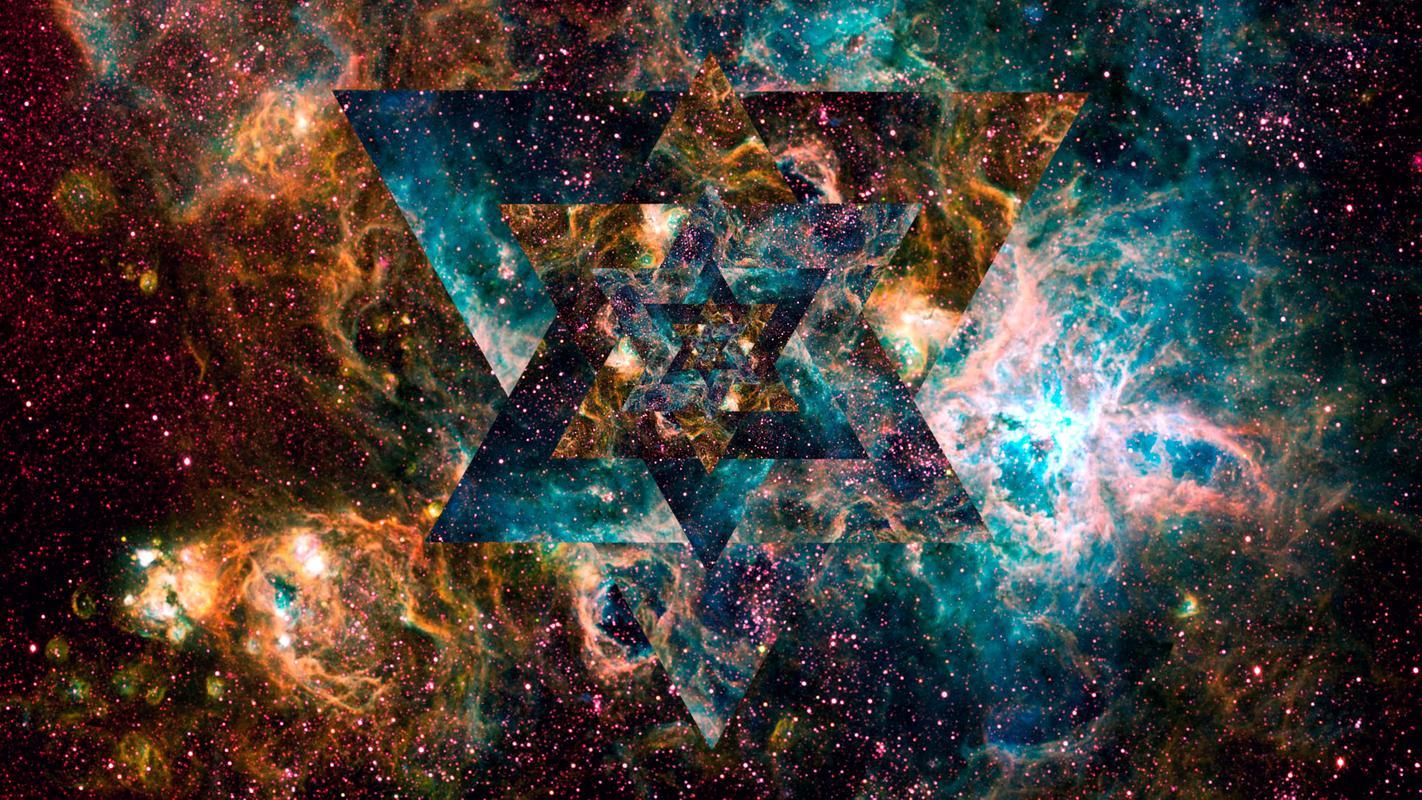 trippy galaxy wallpaper - photo #17