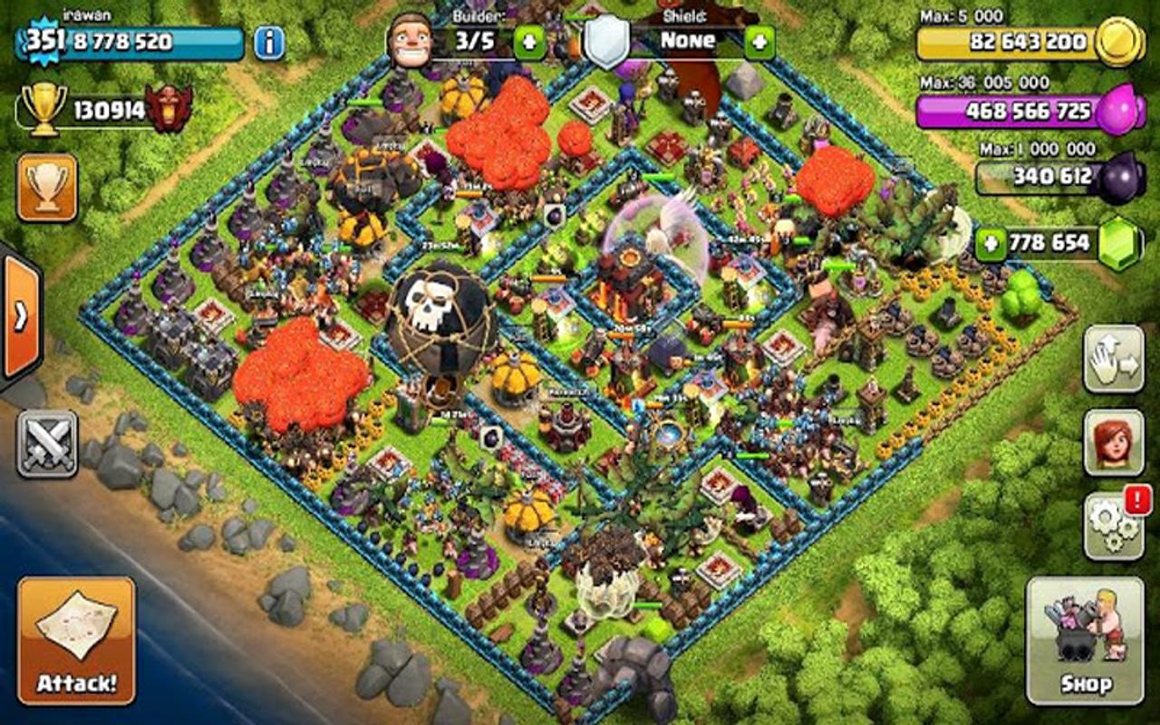 Fhx mod for coc APK Download - Free Strategy GAME for