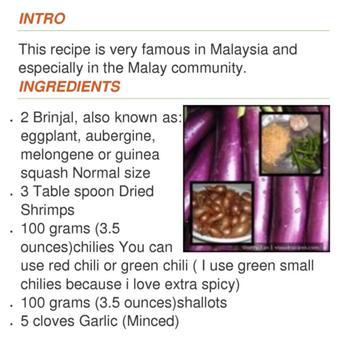 Stir Fried Brinjal apk screenshot