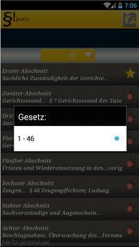 Juris Strafprozeßordnung StPO apk screenshot