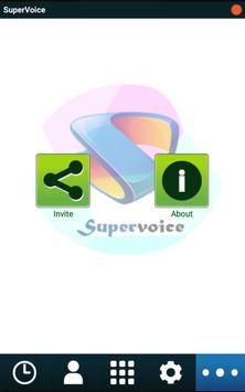 Supervoice apk screenshot