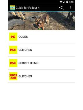 Guide for Fallout 4 apk screenshot