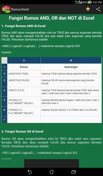 Rumus Excel apk screenshot