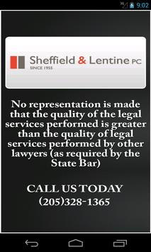 DUI App by Sheffield & Lentine poster