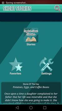 English Short Stories poster