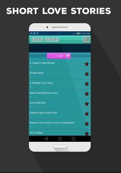 Short Love Stories apk screenshot