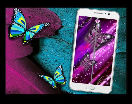 butterfly Lock Screen 2 apk screenshot