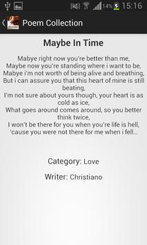 Poem Collection apk screenshot