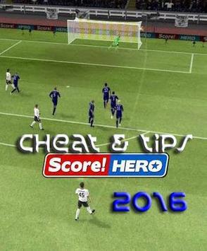 Cheat and Tips Score Hero poster