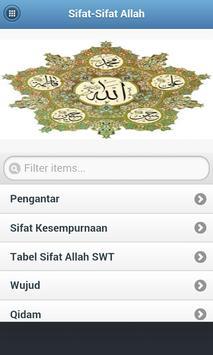 Sifat Sifat Allah poster