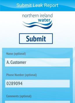 NI Water Report A Leak apk screenshot