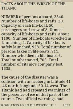 Sinking of the Titanic apk screenshot