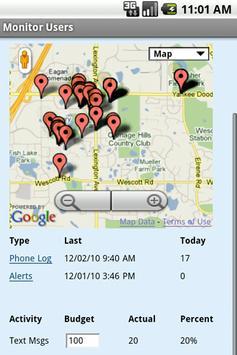 CellTRAKR apk screenshot