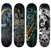 Skateboard Decks Design icon
