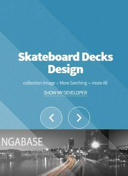 Skateboard Decks Design poster