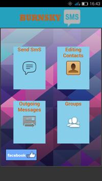 BurnSkySMS - Multi SMS Sender apk screenshot