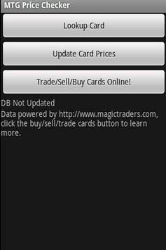 MTG Price Checker poster