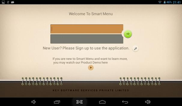 Smart Menu - POS Software poster