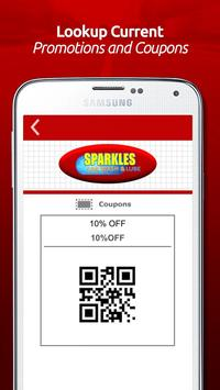 Sparkles Car Wash & Lube apk screenshot