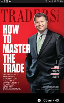 Traders Magazine poster