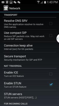Space Freecall SIP on Mobile apk screenshot
