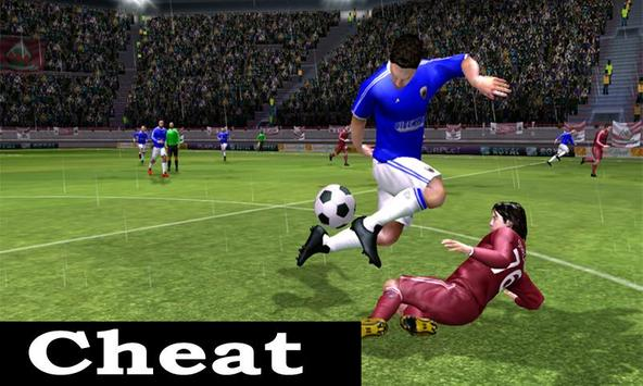 Cheats Dream league Soccer poster