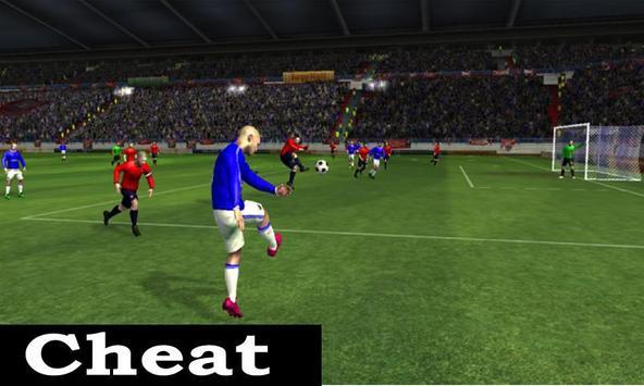 Cheats Dream league Soccer apk screenshot