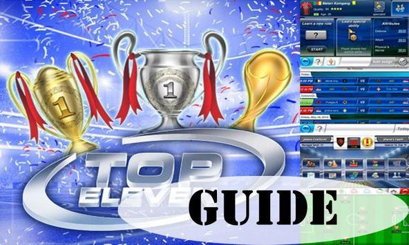 New Guide Top Eleven apk screenshot