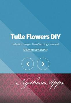 Tulle Flowers DIY apk screenshot