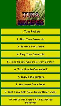 Tuna Recipes apk screenshot