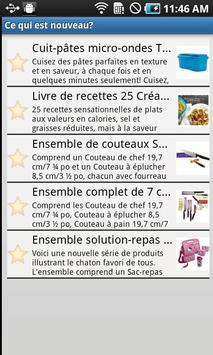 Tupperware (Français) apk screenshot